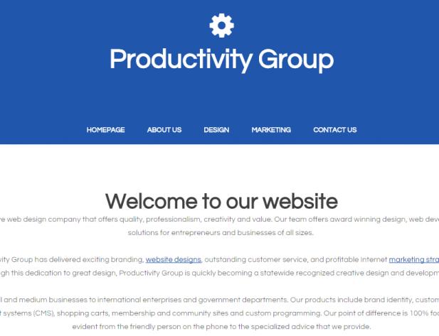 Productivity Group 104